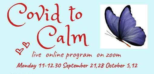 NCCWN North Leitrim Women's Centre – COVID to Calm Online Course