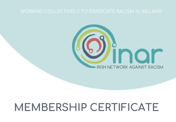 NCCWN delighted to be official members of INAR – Irish Network Against Racism