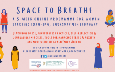 NCCWN-Donegal Space to Breathe online programme