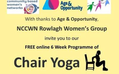 NCCWN Rowlagh Women's Group – Chair Yoga