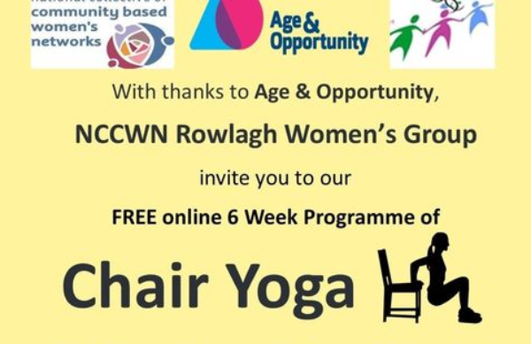 NCCWN Rowlagh Women's Group – Chair Yoga