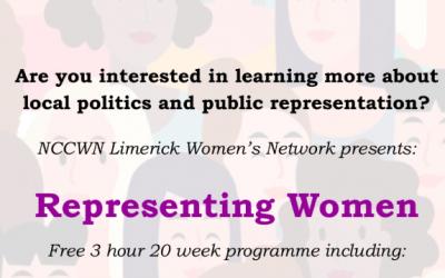 NCCWN Limerick – Representing Women programme