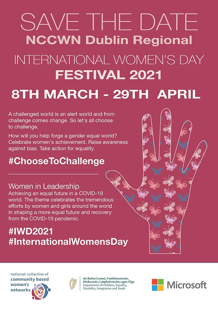 NCCWN Dublin Regional International Women's Day Festival 2021