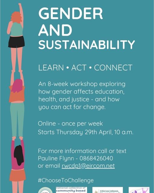 NCCWN RONANSTOWN WOMEN'S CDP GENDER AND SUSTAINABILITY LEARN ACT CONNECT