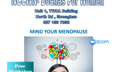 NCCWN-Dochas for Women – Mind your Menopause