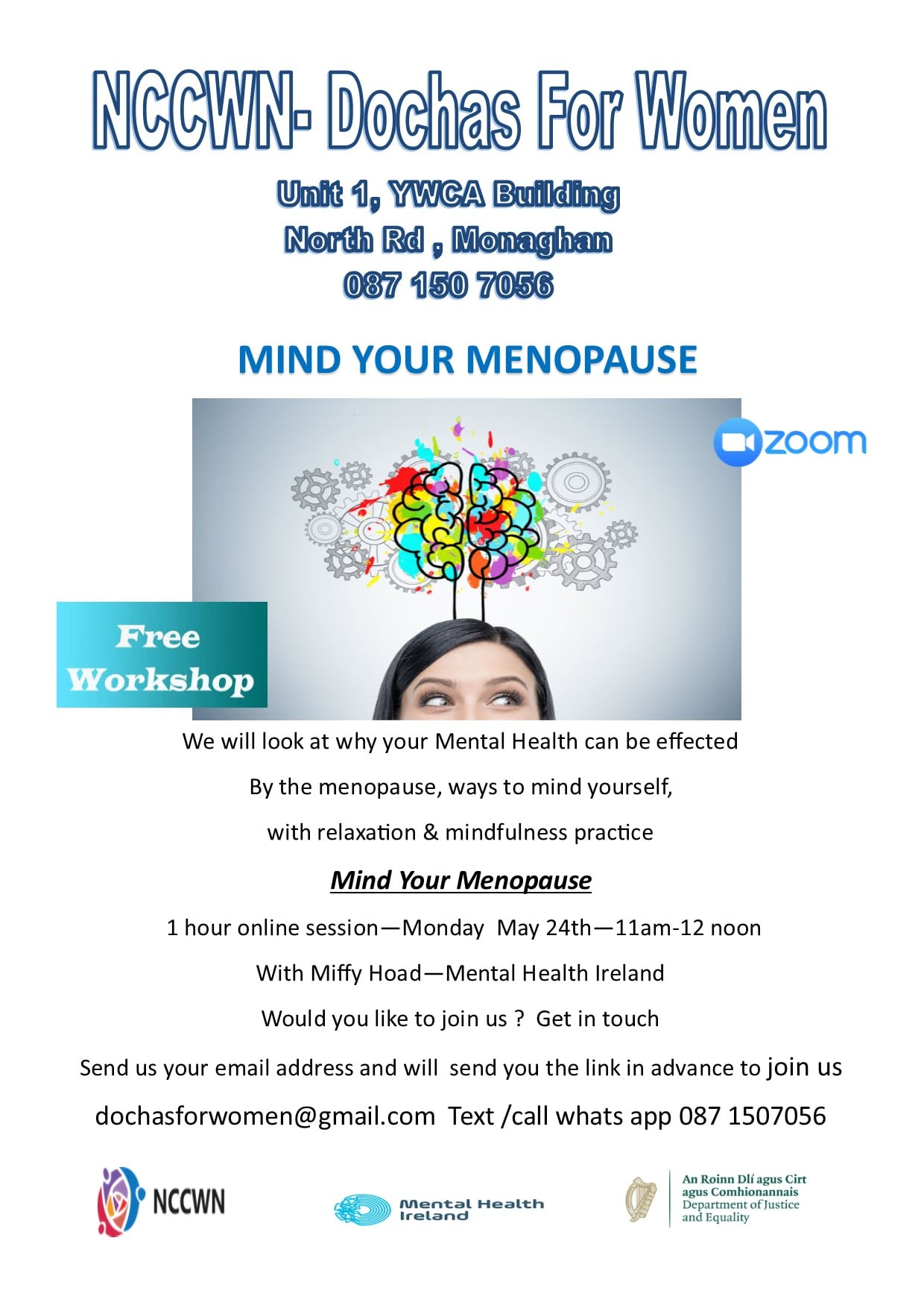 NCCWN-Dochas for Women Mind your Menopause