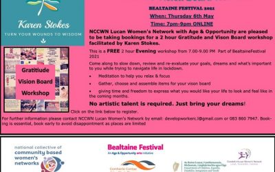 NCCWN Lucan Women's Network – Gratitude Vision Board Workshop
