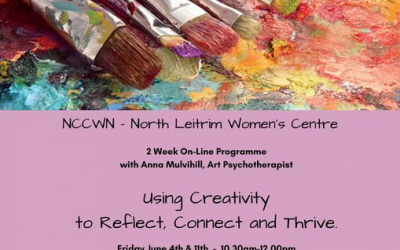 NCCWN North Leitrim Women's Centre – Using Art & Creativity to Reflect, Connect & Thrive