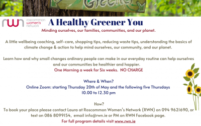 NCCWN Roscommon Women's Network – A Healthy Greener You