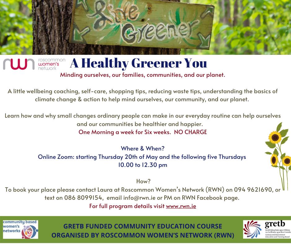 NCCWN Roscommon Healthy Greener You