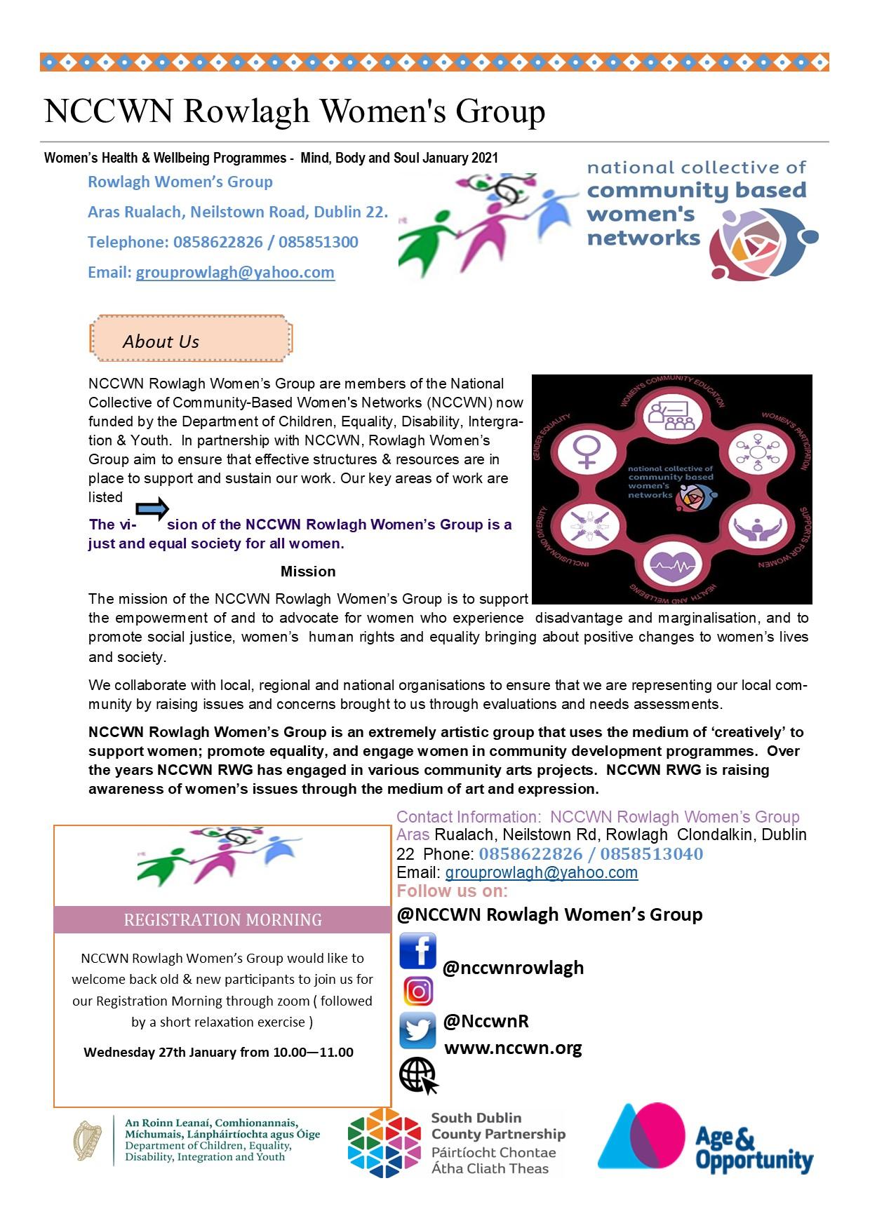 NCCWN Rowlagh Leaflet Page 2