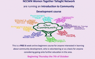 NCCWN Tallaght – Introduction to Community Development course