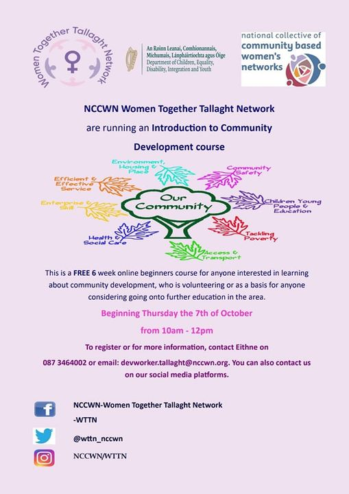 NCCWN Tallaght - Introduction to Community Development course