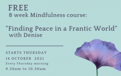 NCCWN SWAN – Free 8 week Mindfulness course
