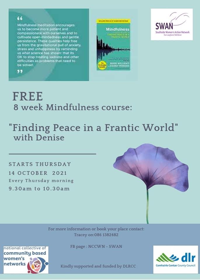 NCCWN SWAN - Mindfulness course