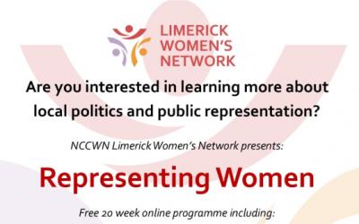NCCWN Limerick – Representing Women programme (September)