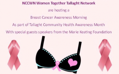 NCCWN Women Together Tallaght Network  – Breast Cancer Awareness Morning